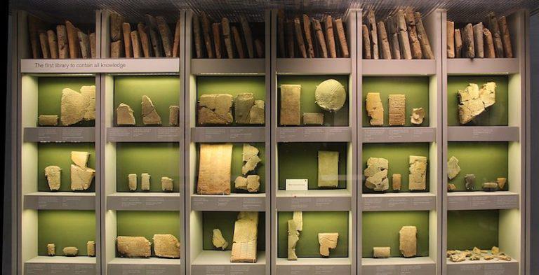 Ashurbanipal's library