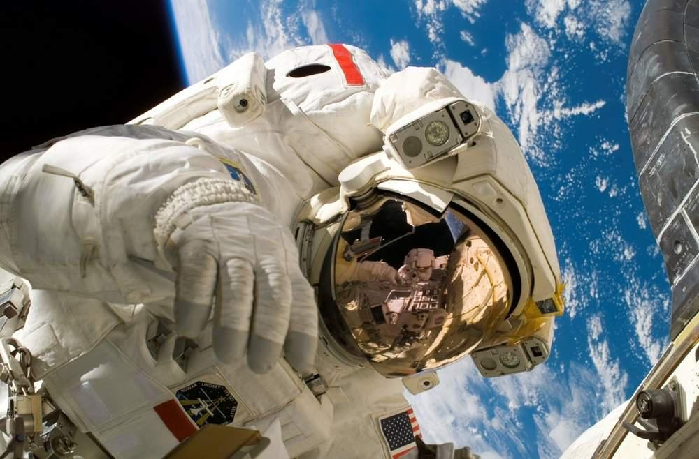 Astronaut in space.