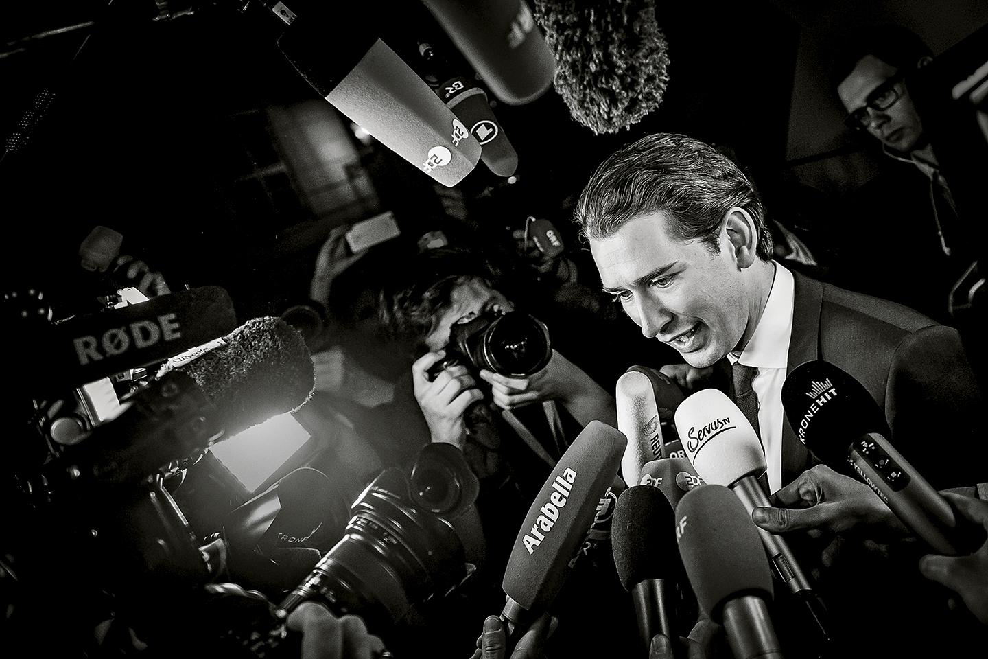 Critics of Kurz warn that his slick manner and appearance—likened by one young Vienna resident to American Psycho's Patrick Bateman—is blinding fans to his real goal: eroding parliamentary democracy.