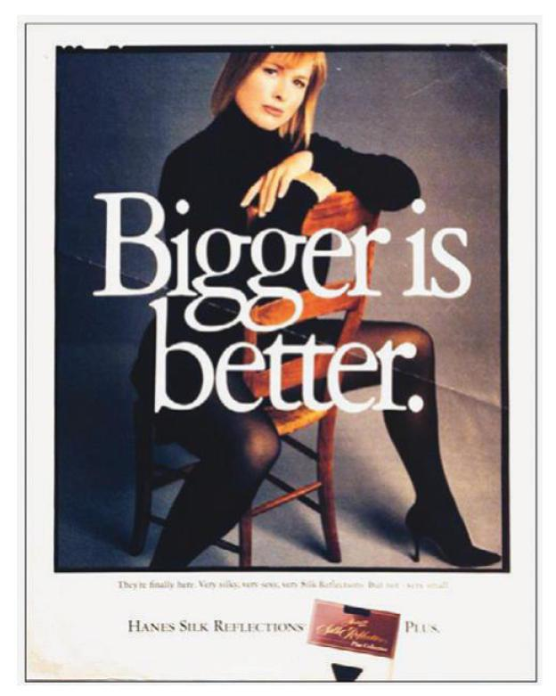 """07be334408 FROM """"CALLING ALL CHUBBIES"""" TO ITALIAN VOGUE the model Emme in a 1994 ad  for Hanes"""