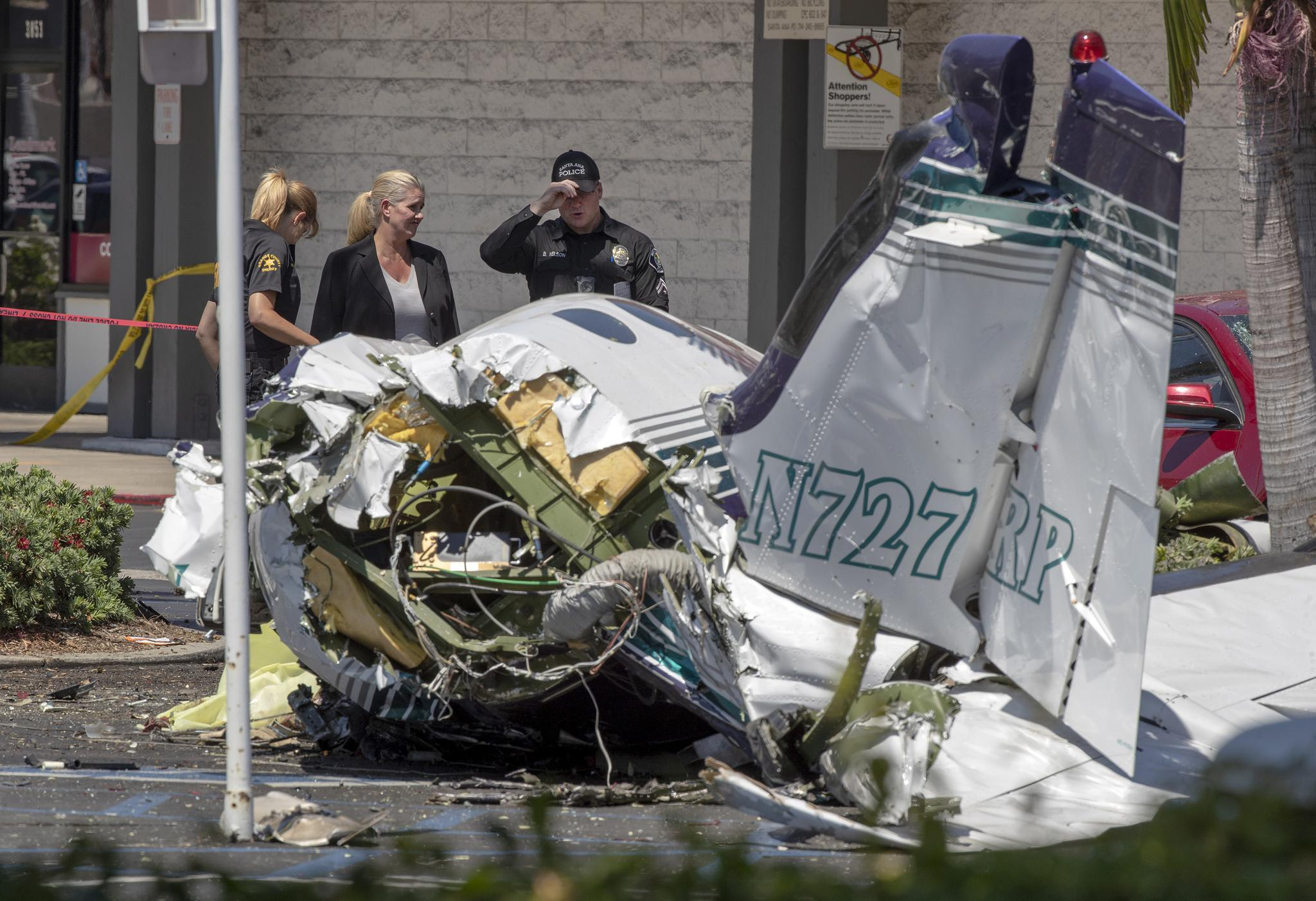 Victims Of Fatal Santa Ana Plane Crash Identified As Bay Area
