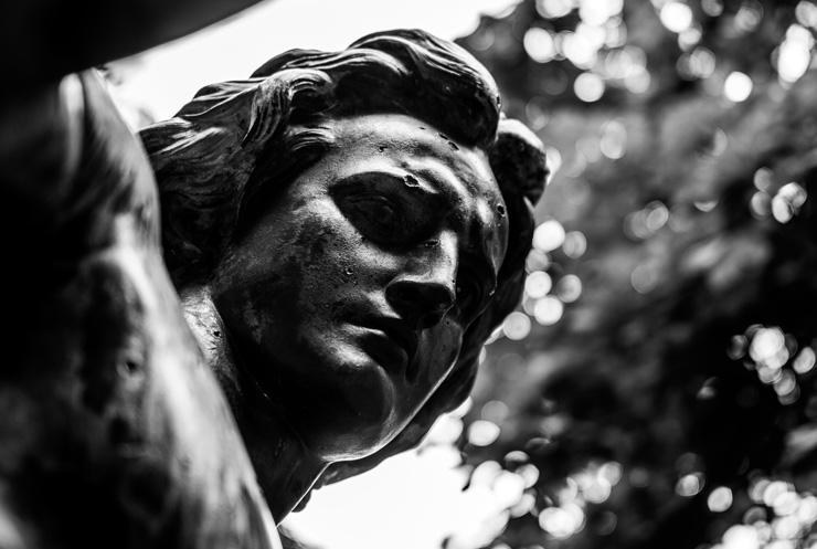 Art Is Our Teacher: Let's Learn From Rather than Destroy the Art which Reflects Our Past, by Kristen Heimerl. Photograph of statue head by Fabian Bachli