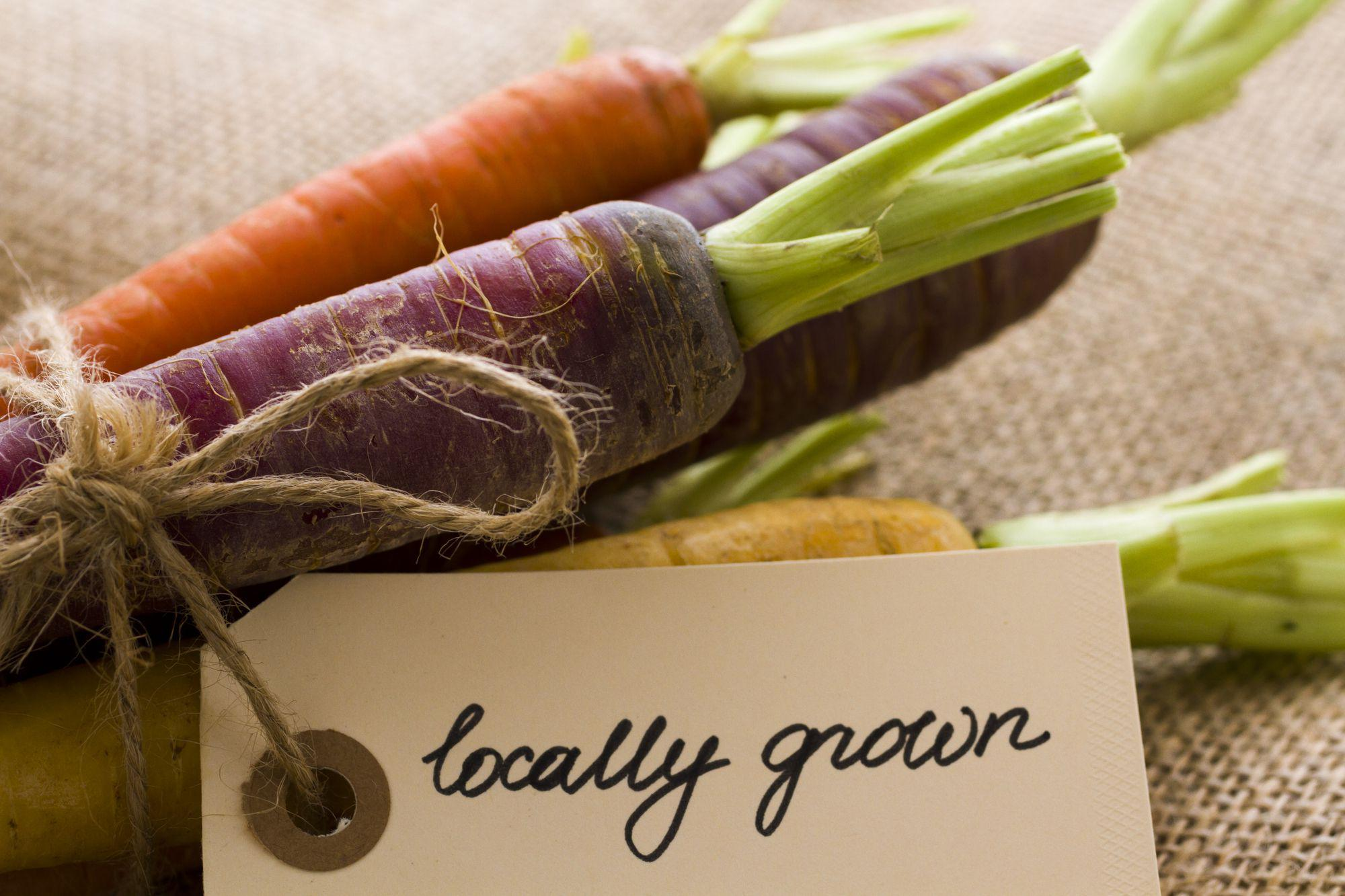 Locally grown, organic carrots might look prettier, but are they any better for the planet?