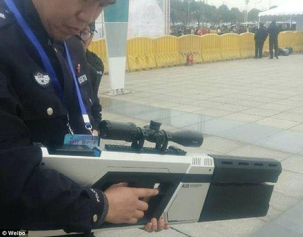 China drone jamming gun