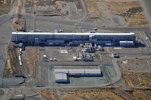 The PUREX facility at Hanford