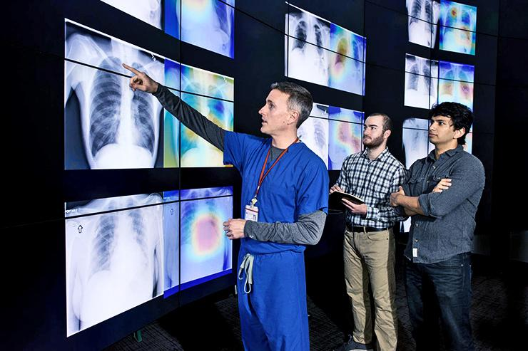 Researchers look at X-rays and heat maps