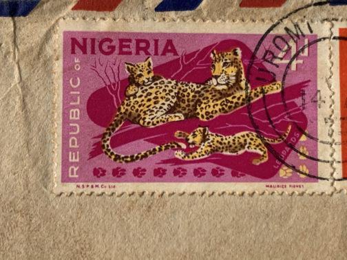 Old Nigeria Stamp