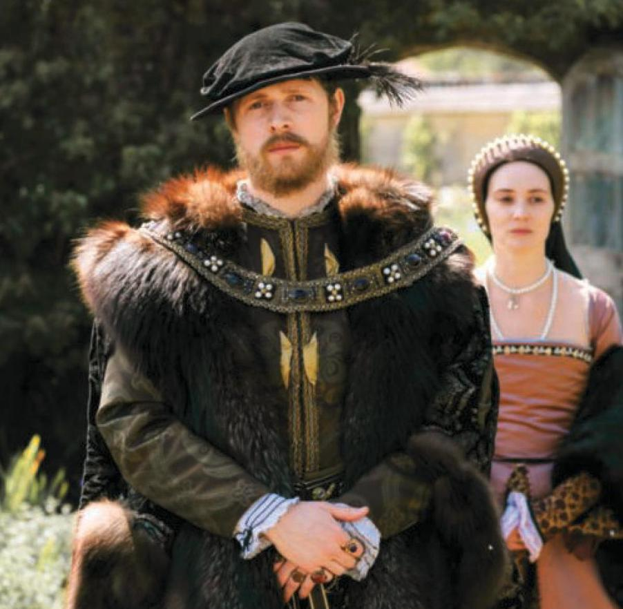 Henry VIII Scott Arthur And Anne Boleyn Claire Cooper As Depicted In Six Wives