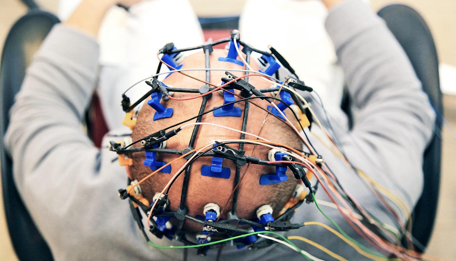 electroencephalography (Parkinson's disease concept)