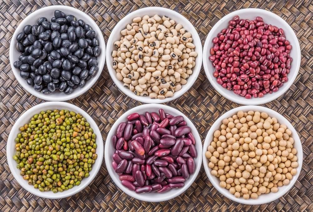 Bowls of beans