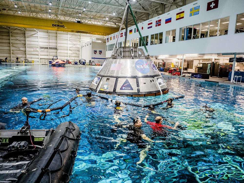 nasa orion practice