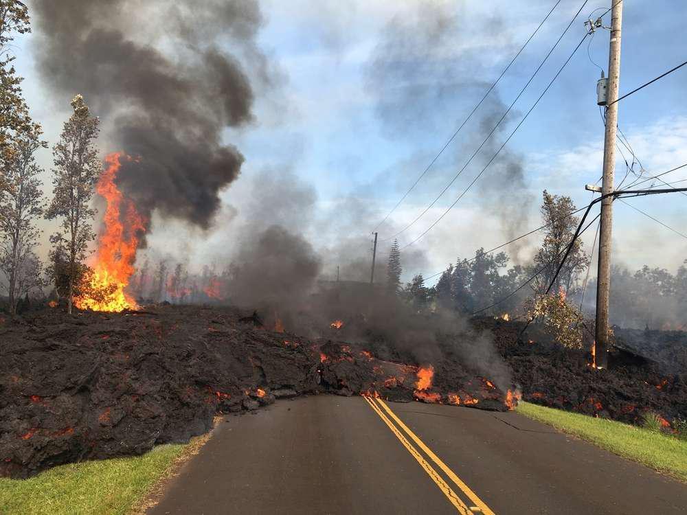lava roadblock