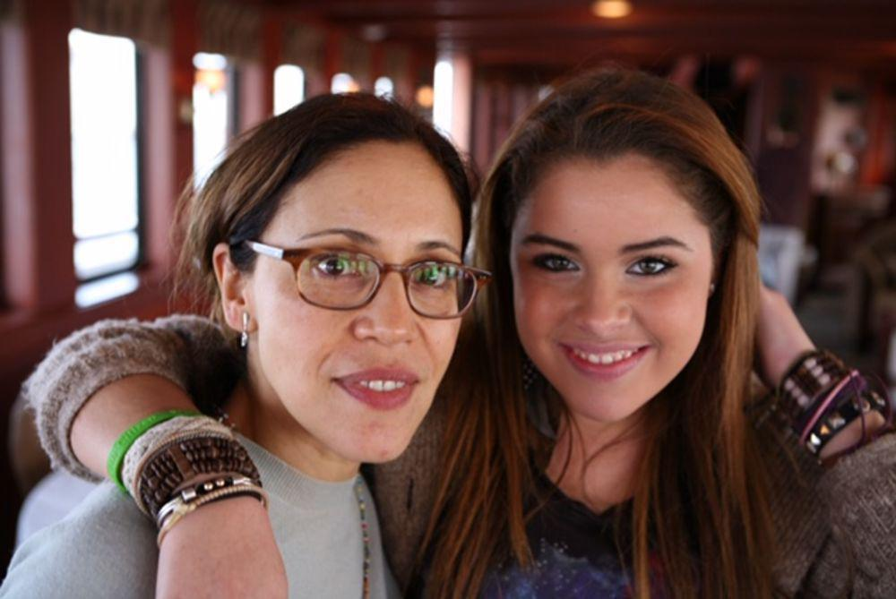 Julie Gaines and daughter