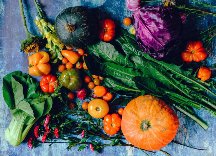 What Are the Right Vitamins? Natural vs. Synthetic Sources & Supplements, by Austin Winder. Photograph of fruits and vegetables by Ella Olsson