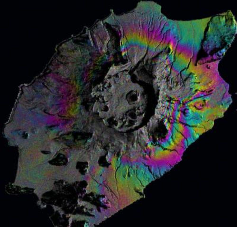 Okmuk volcano