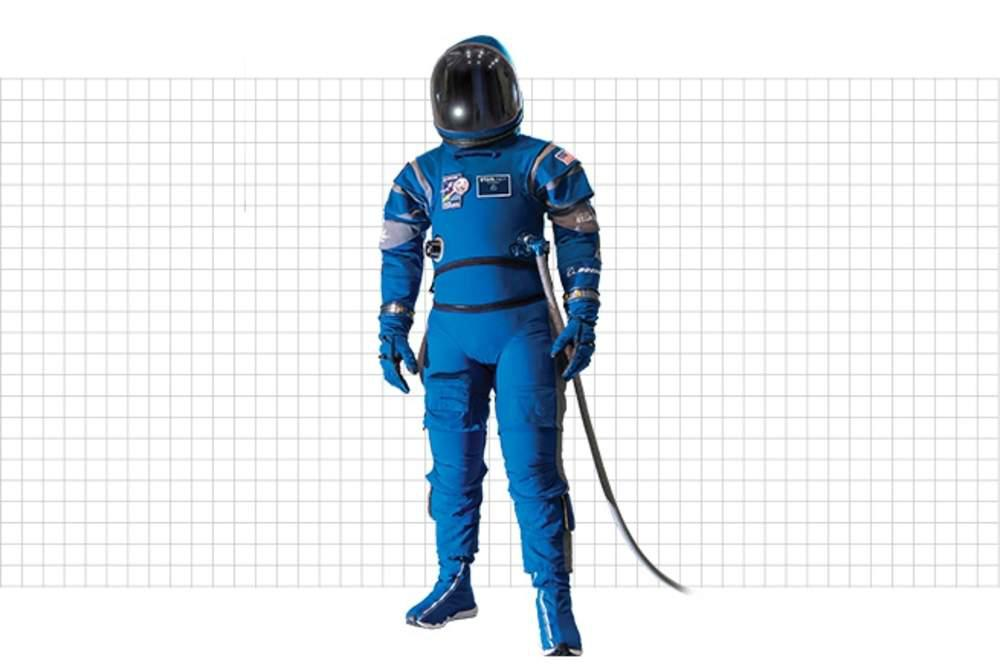 Boeing Starliner Space Suit