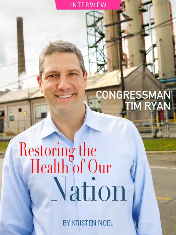 Congressman Tim Ryan photographed near steel mill in Youngstown, Ohio Photograph by Bill Miles