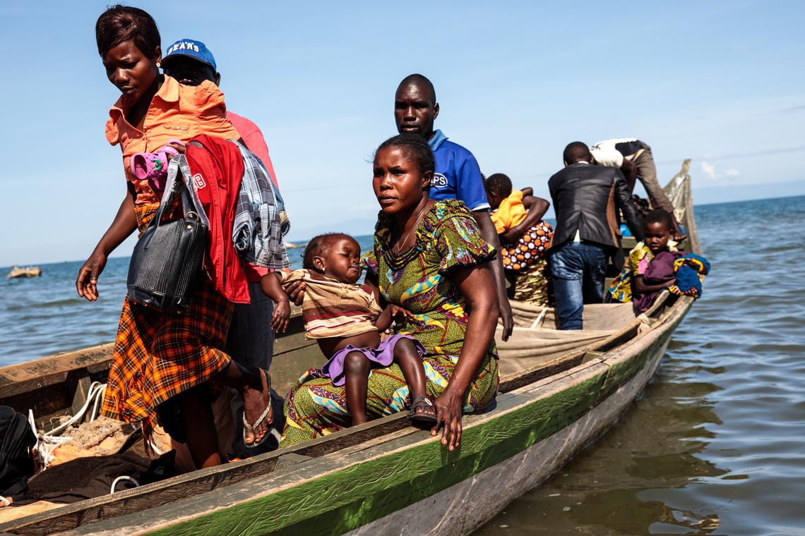 a refugees journey from the democratic republic of the congo