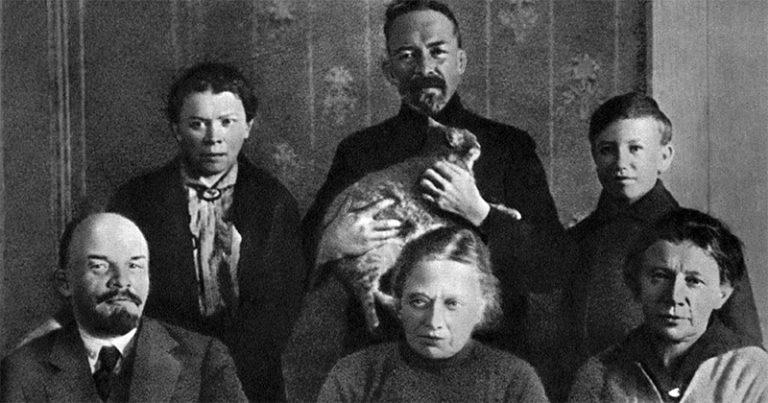 Vladimir Lenin and family