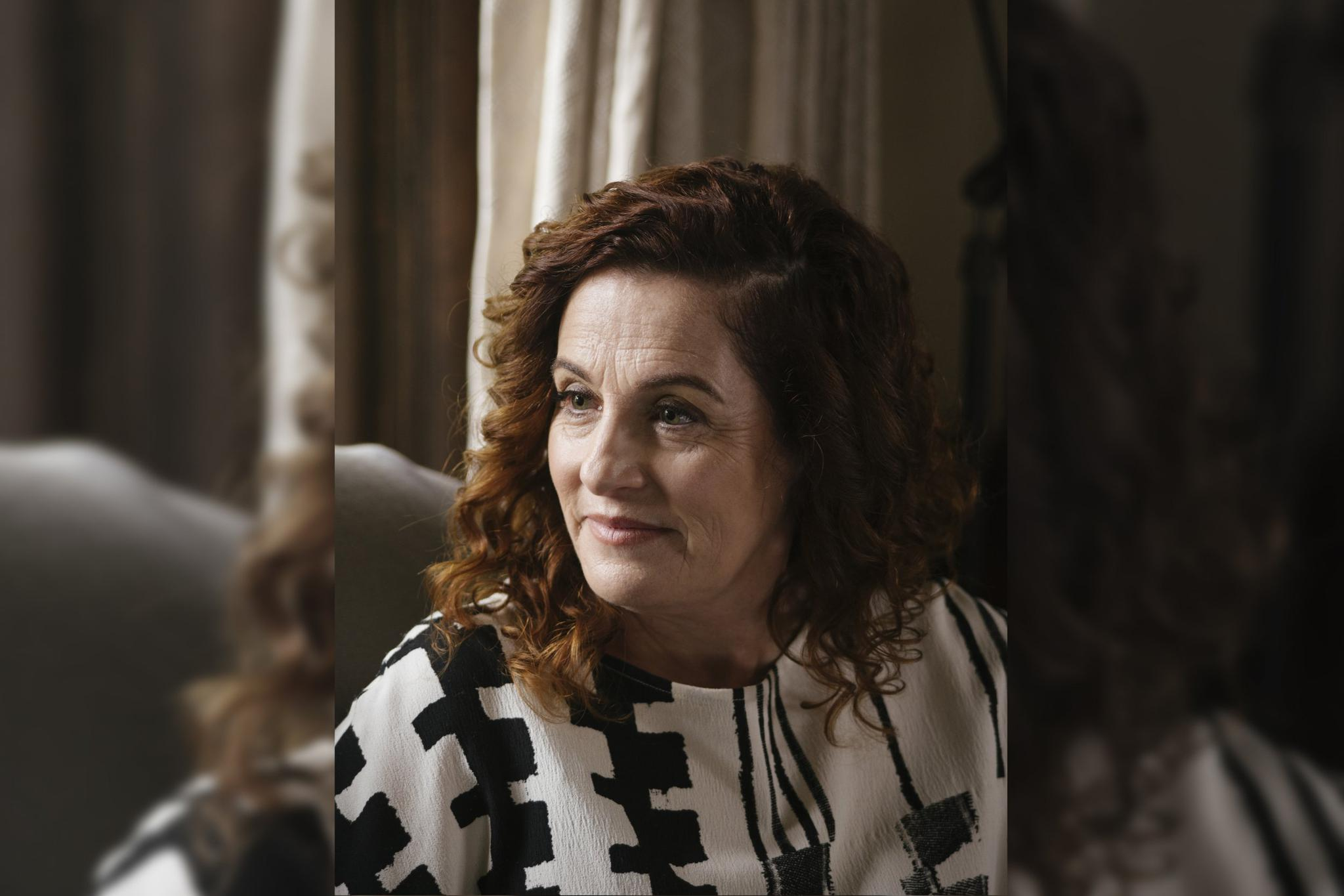 """Ayelet Waldman, a novelist and former federal public defender, at home in Berkeley, California on December 8, 2016. Waldman has written a memoir about her discovery of microdosing, the illegal but voguish drug regimen whose adherents use tiny amounts of LSD much as one might use Prozac. """"I didn't do this on a lark,"""" said Waldman. """"I did this because I was afraid I was going to kill myself."""""""