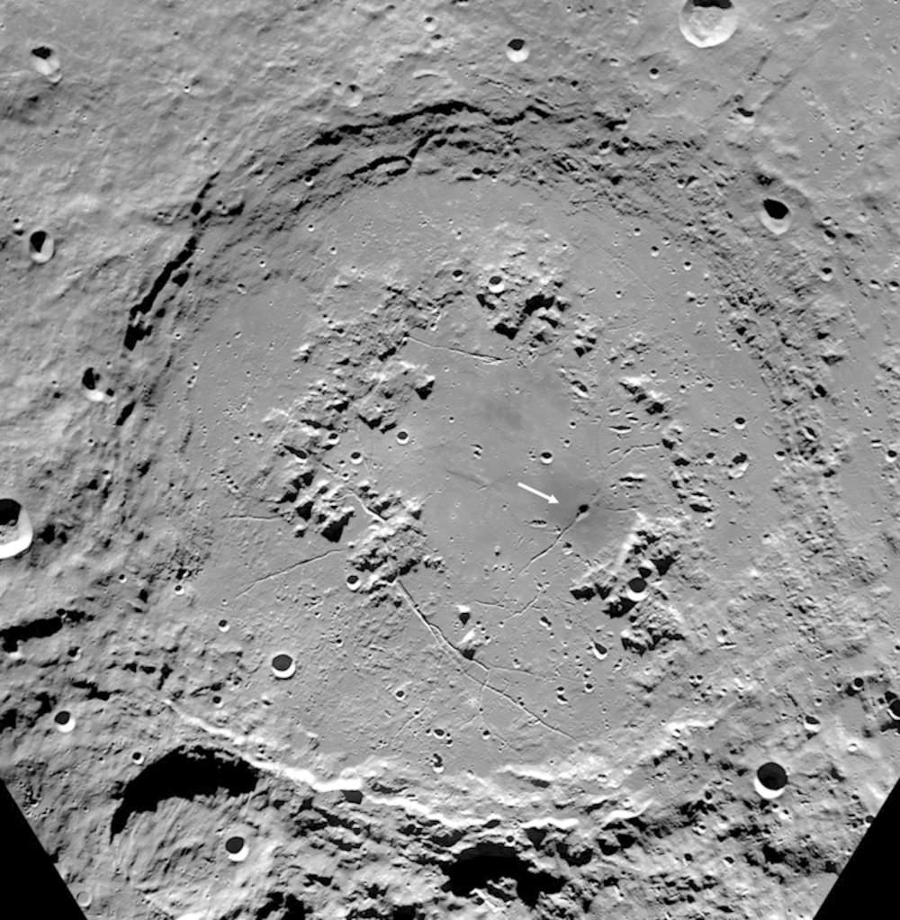 crater moon