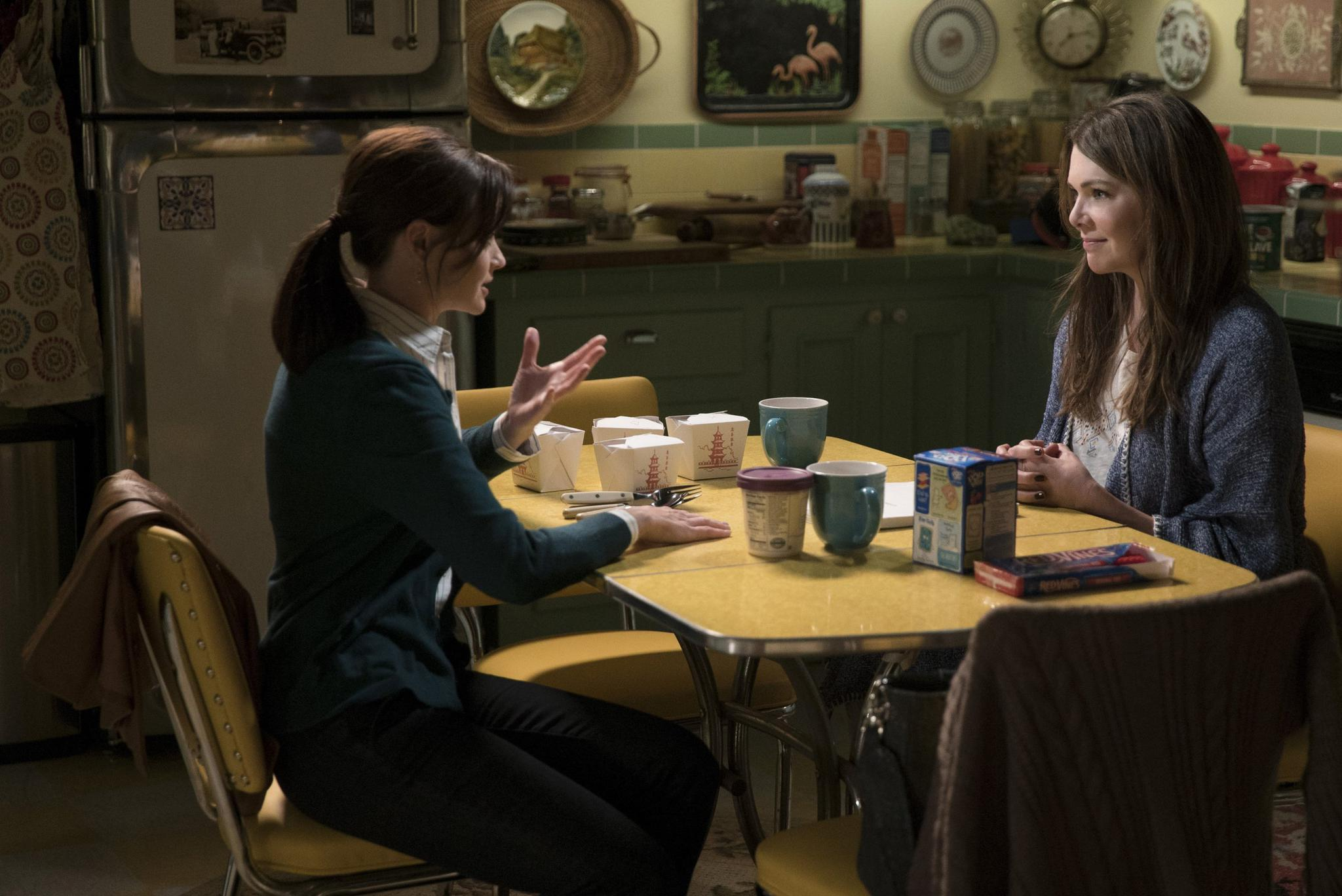 """Lorelai and Rory Gilmore are back in Netflix's revival of """"Gilmore Girls."""" The show will launch in the fall."""