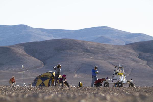mars rover tested at the atacama desert