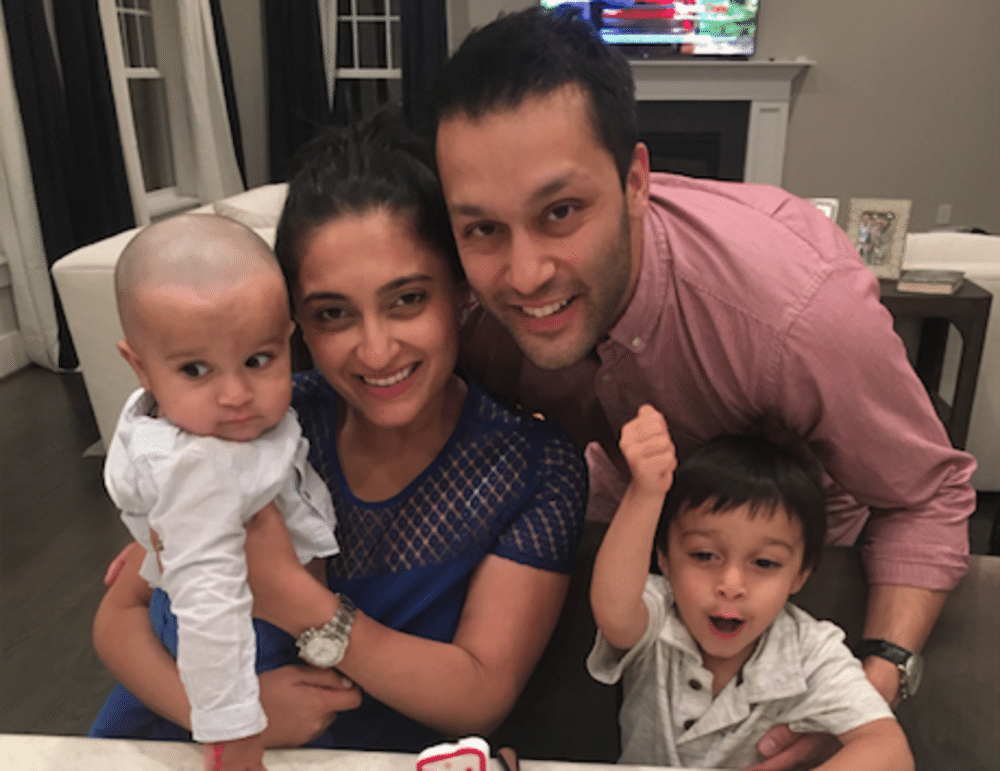 Dr. Shilpi Agarwal and her family