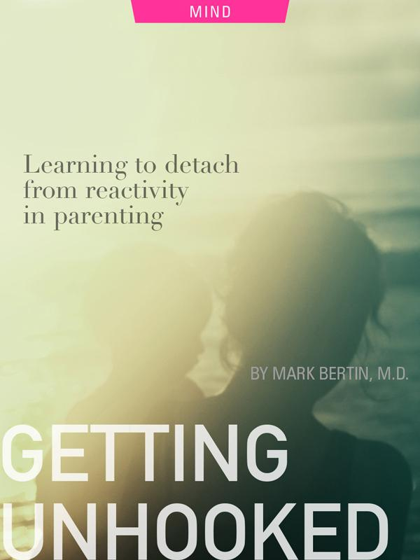 Getting Unhooked, detaching from reactivity in parenting, photograph of parent and child by Matt Hoffman