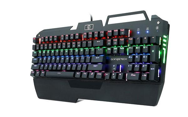 KrBN LED Backlit Gaming Keyboard