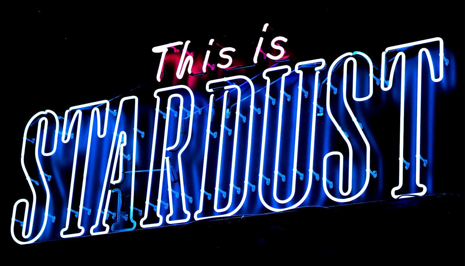 stardust neon sign