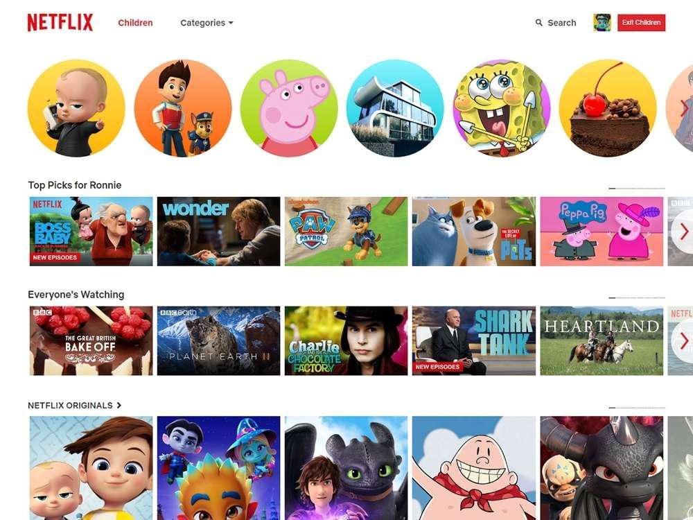 Netflix for kids.