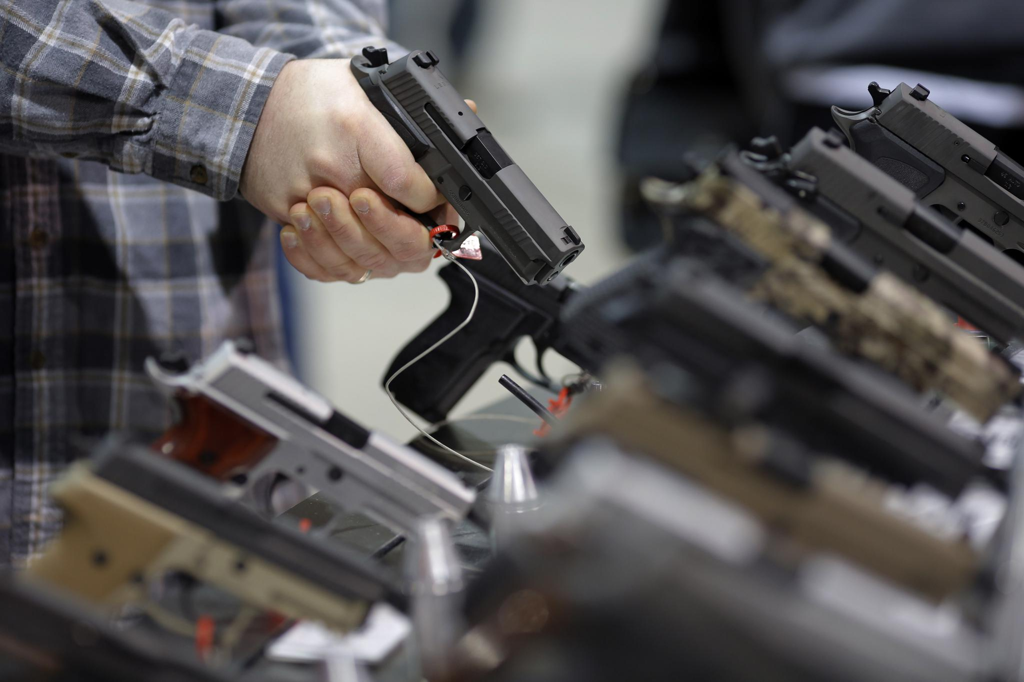 About 36 percent of Americans own a gun.