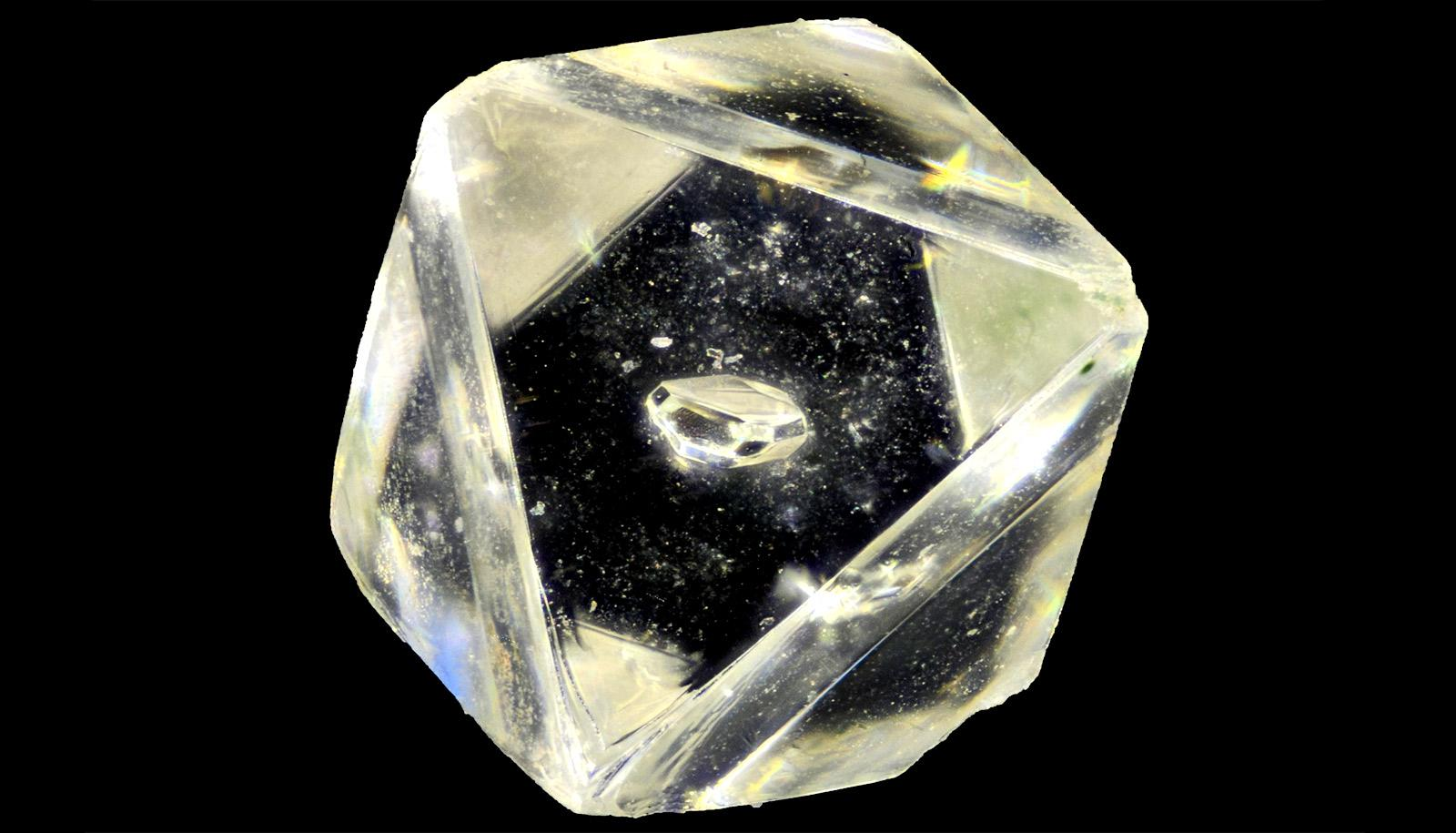 diamond with another smaller diamond within