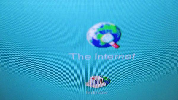 An Old Browser Logo