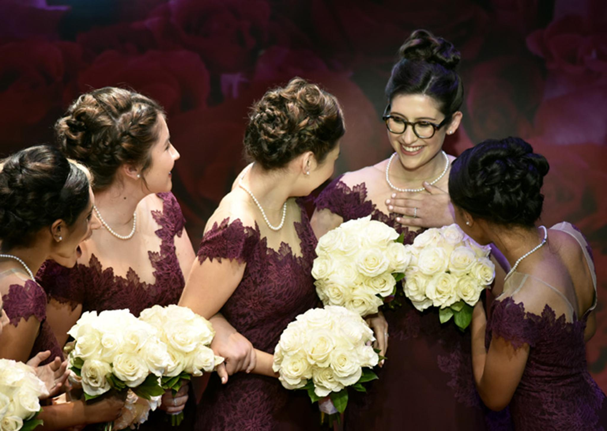 Bisexual bridal party