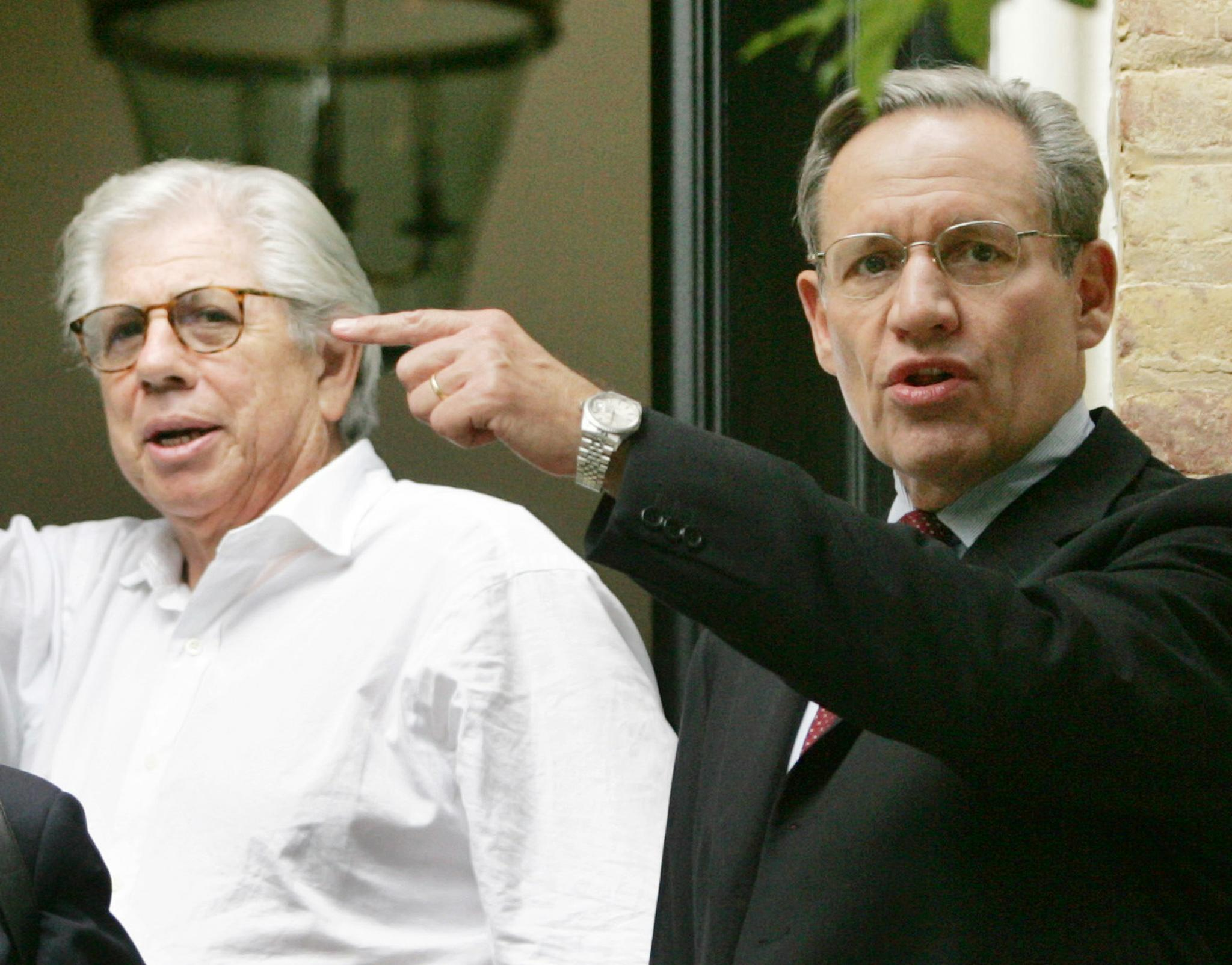 For Carl Bernstein (left) and Bob Woodward, it may feel as if history is repeating itself 45 years later.