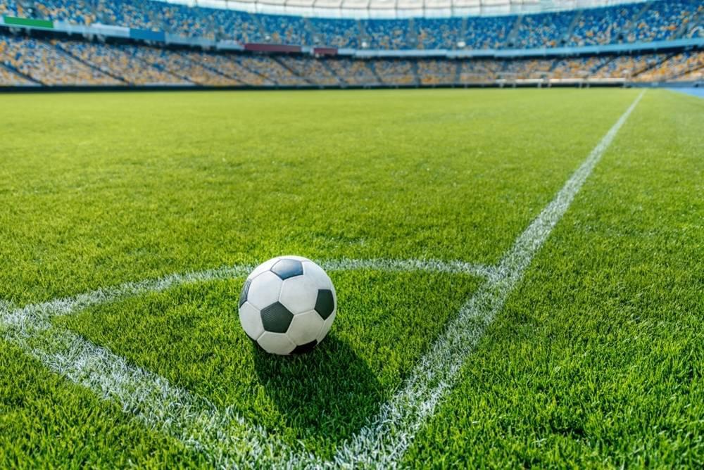 soccer stadium pitch