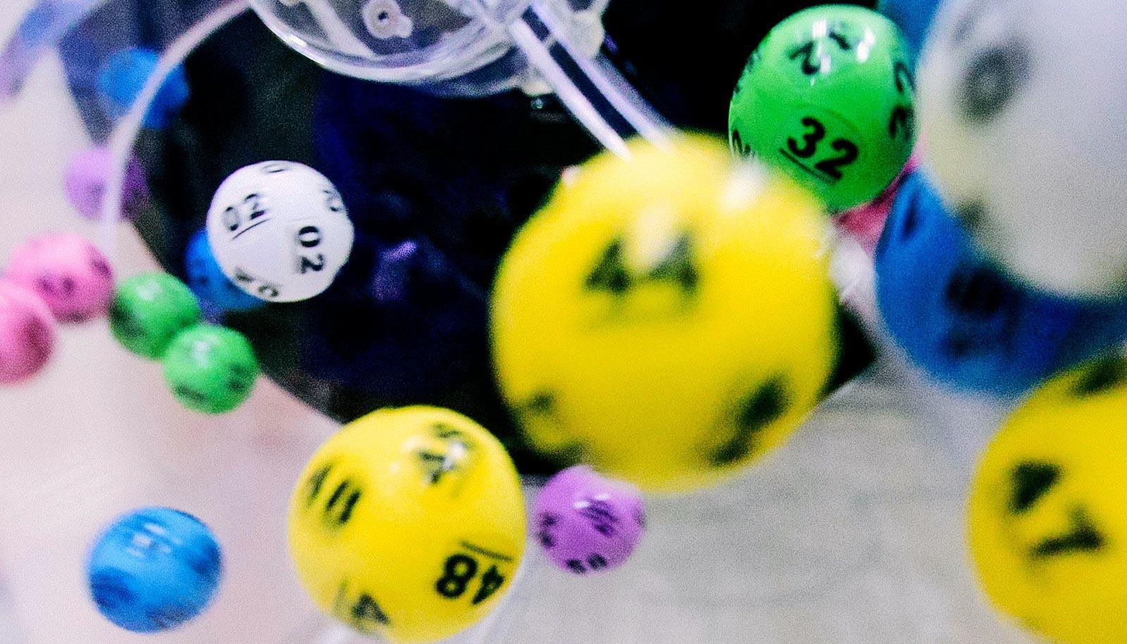 lottery balls (stem cells concept)