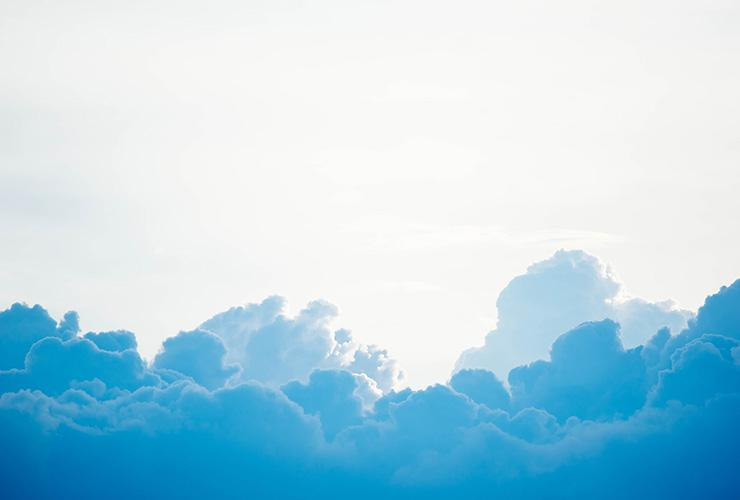 Just Breathe: Using Breathwork to Reduce Stress, Calm the Mind and Relax the Body by Ana Lilia. Photograph of clouds by Chuttersnap