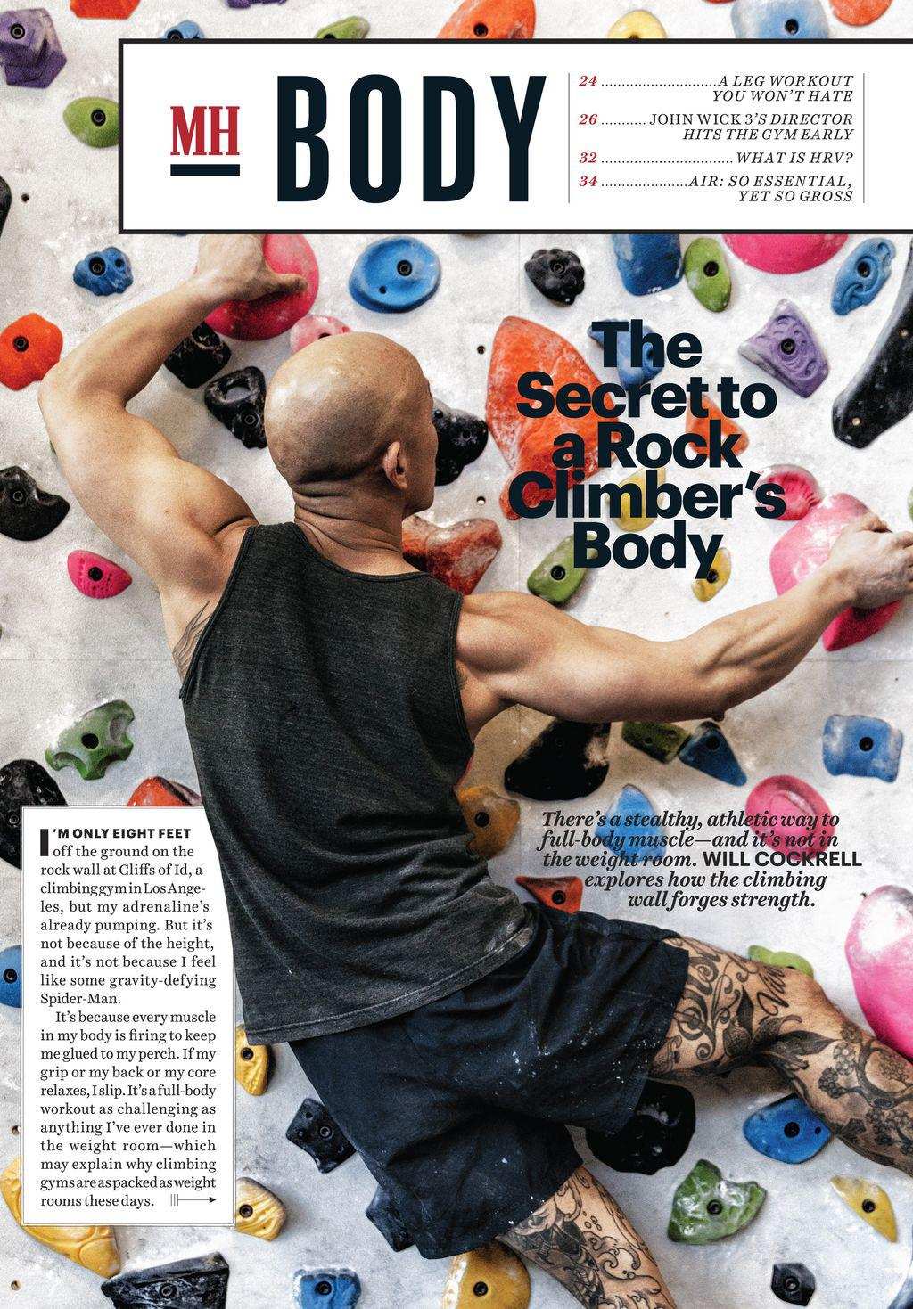 The Secret to a Rock Climber's Body | Scribd
