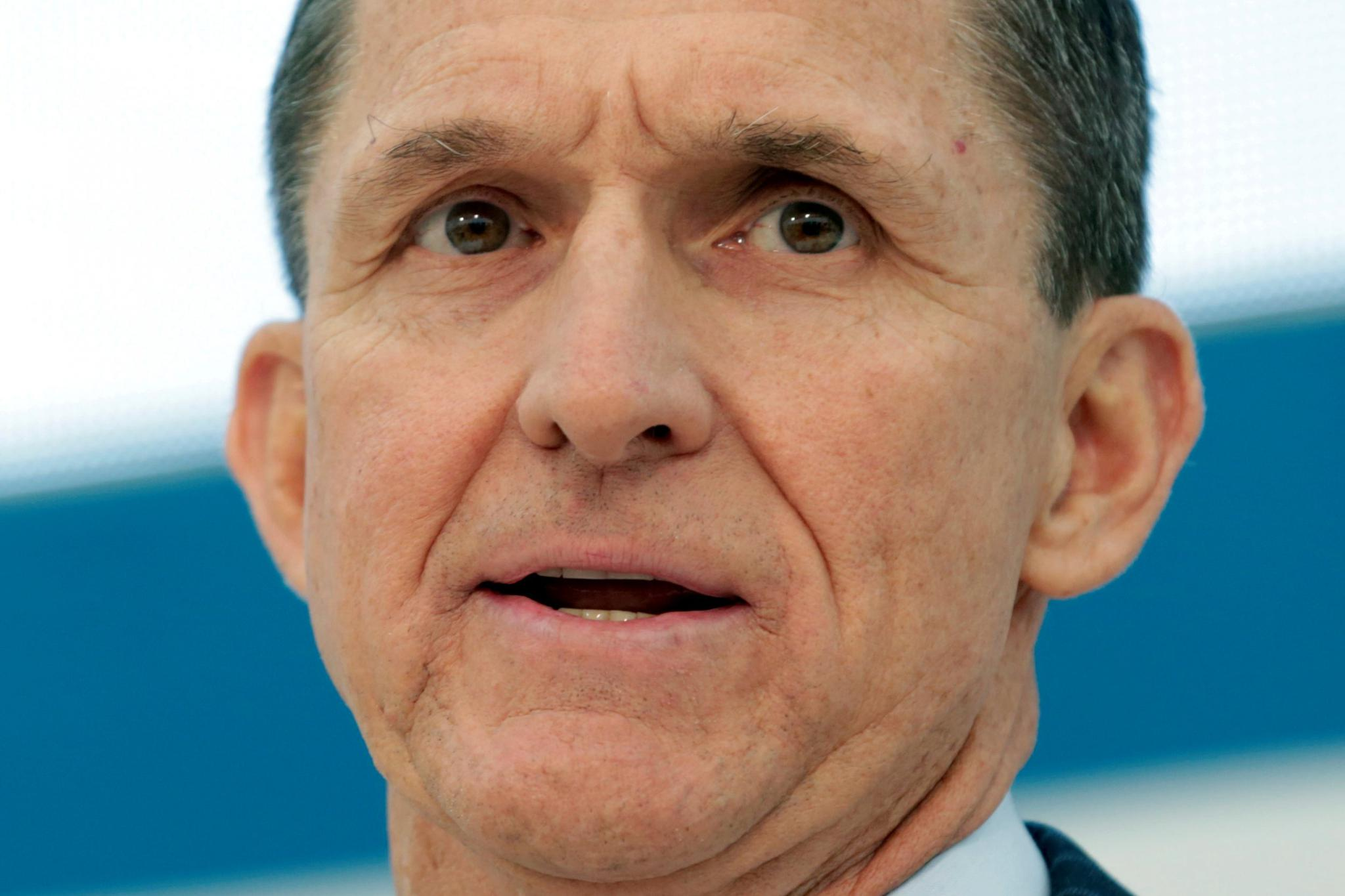 Flynn speaks at a U.S. Institute of Peace conference on January 10.
