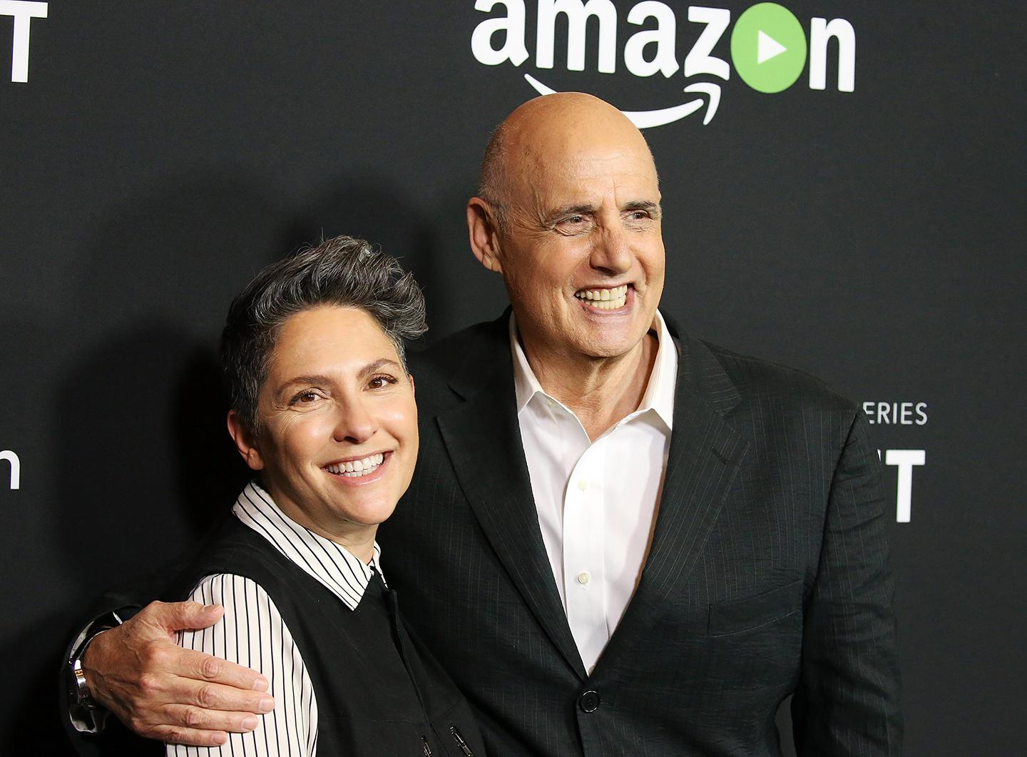 Jill Soloway with Jeffrey Tambor, the star of 'Transparent,' who was fired after allegations of harassment.