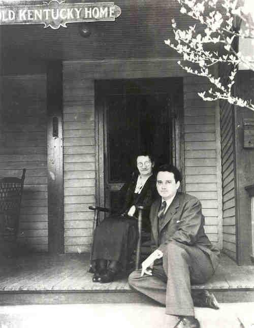 Thomas Wolfe and his mother