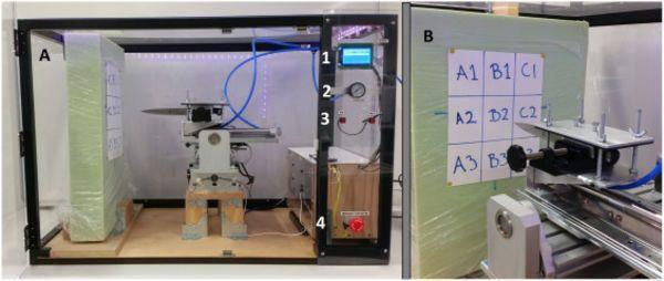 forensic science stabbing machine