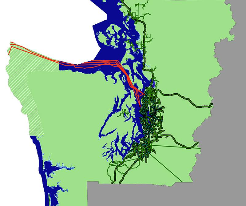 internet flood map for Seattle