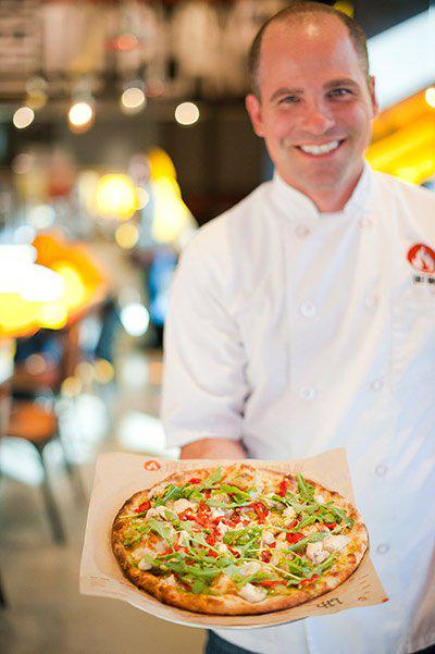 Fired up: Bradford Kent of Blaze Pizza