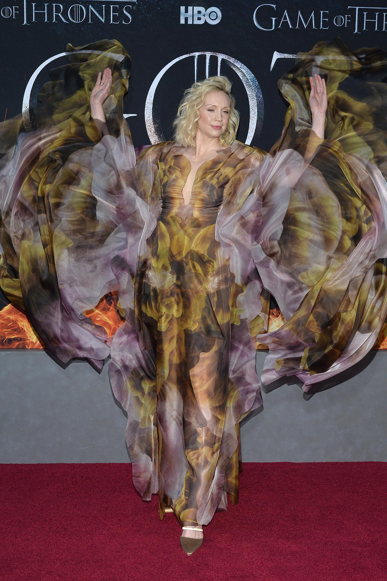 Lea Brienne Of Tarth Actually Won The Game Of Thrones Says Actress Gwendoline Christie En Linea