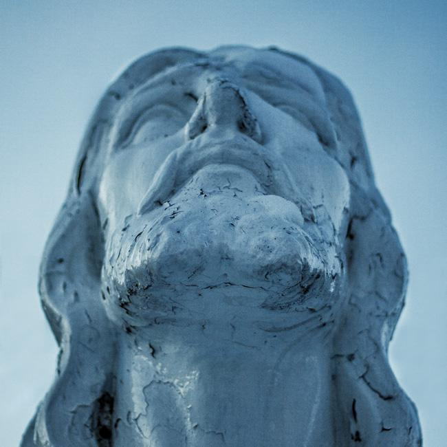 Living into Enoughness, by Justine Froelker. Photograph of bust of Christ by Scott Rodgerson