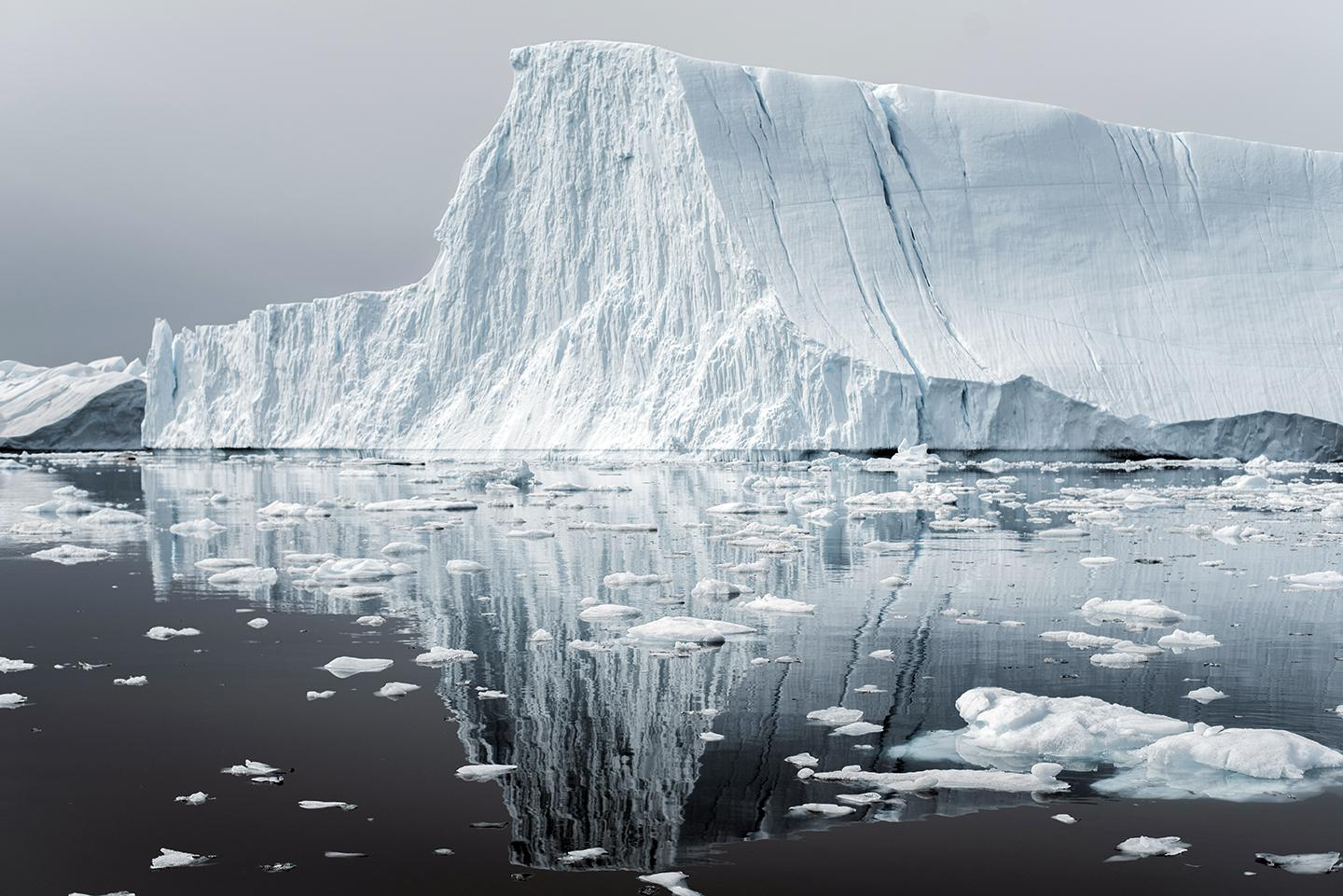 Greenland loses about 250 gigatons of ice each year. If all of it were to melt, sea levels would rise by 21 feet.